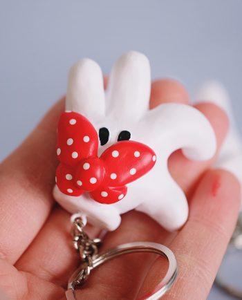 Llaveros Mickey y Minnie